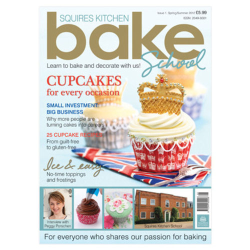 Squires Kitchen Bake School Magazine Issue 1 - 2012 (in englischer Sprache)