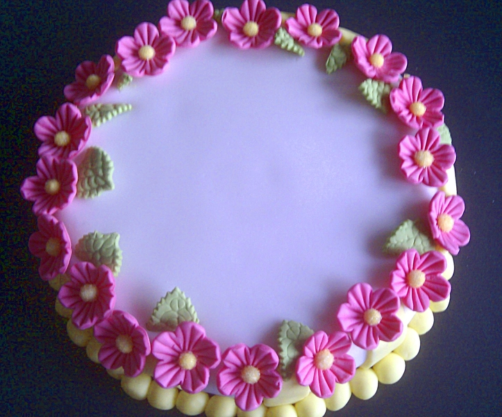 Flower Cake from Evi Carroll