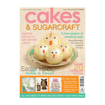 Cakes & Sugarcraft Issue 120 (in englischer Sprache)
