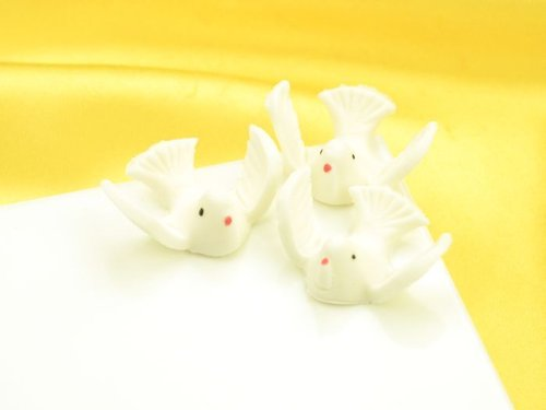 Sugar Doves - 5 pcs