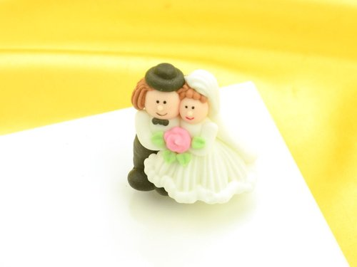 Sugar Wedding Couple 4,2 cm