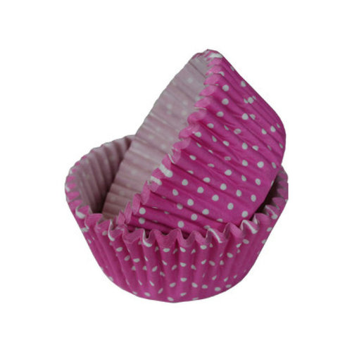 Cupcake Cases dotty pink 36 pcs. per pack